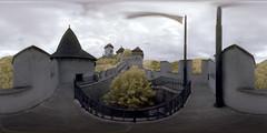 Karlstejn Castle in infrared
