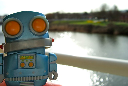 Robot on the Taff