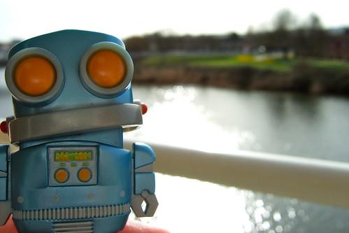 Robot on the Taff
