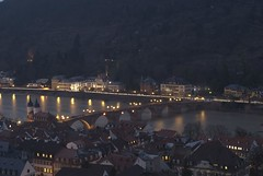 Heidelberg @ night