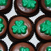 shamrock chocolate dipped oreos