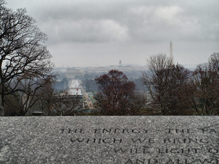 Washington from the Kennedy Gravesite