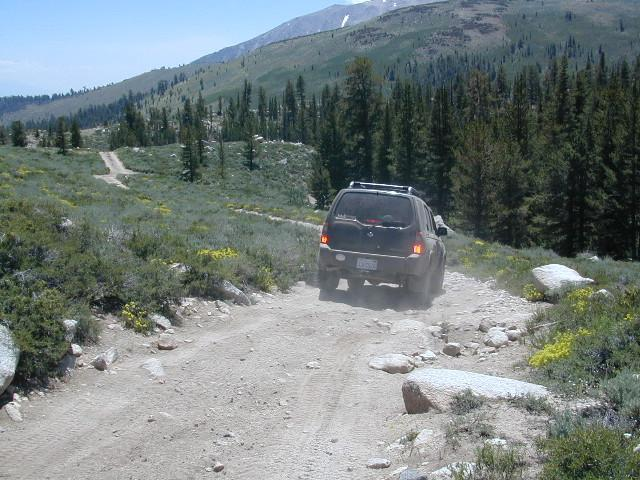 Down to Baker Creek in 4WD (low)