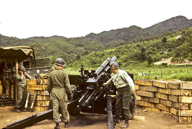 Korean War: Battle of the Kumsong Salient, 58th FAB, 3rd Division