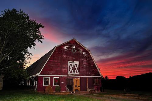 sunset horses barn virginia farm country farmland richmond powhatan jamesatkinson d700