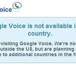 Google Voice UK Notice