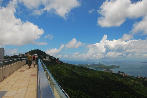 The other side of Hong Kong Island