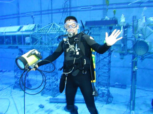NBL Camera Diving