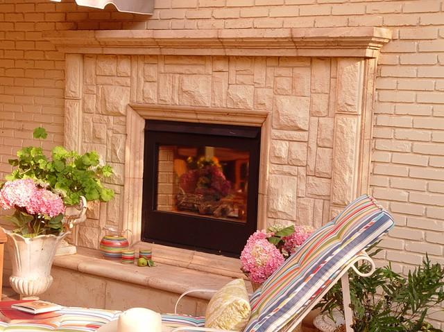 Photo for Austin stone fireplace