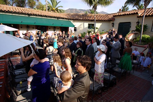 wedding ceremony begins    MG 2378