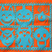 Papel Picado Orange Tee