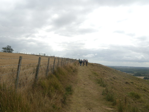 On top, Crundale Down