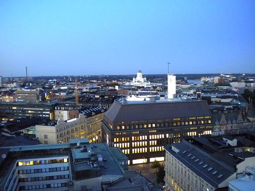 Helsinki view from Sokos Torni