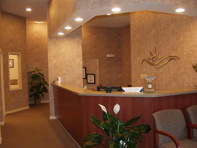 dr moorhead dental office front desk flickr photo