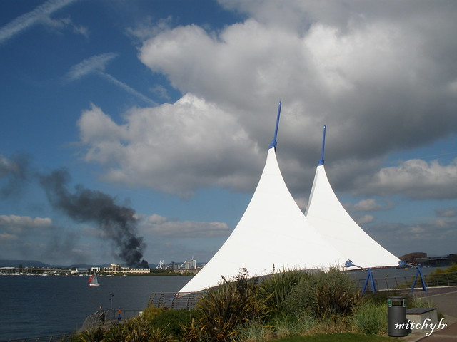 Fire On A Sailing Day