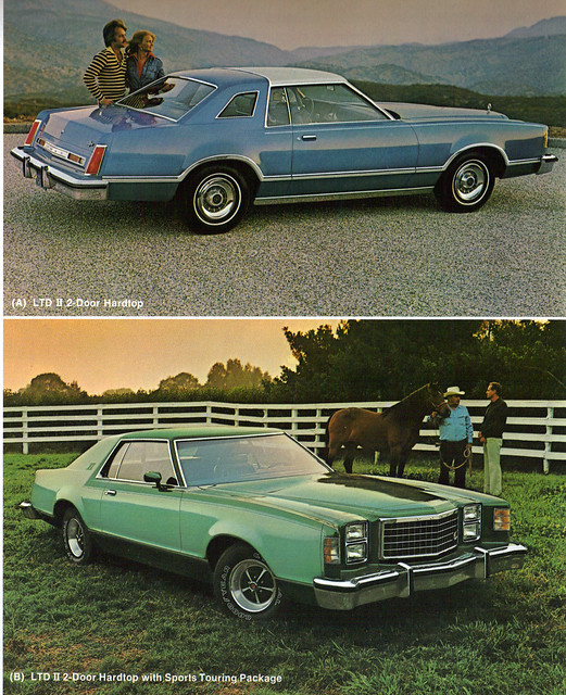 1978 Ford Ltd II Sport http://www.flickr.com/photos/37573576@N06/3968135915/