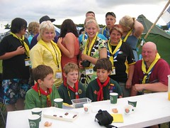 1st Finch Cubs with Finnish host group