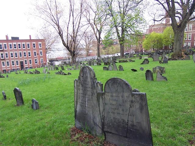 copp's hill burying ground
