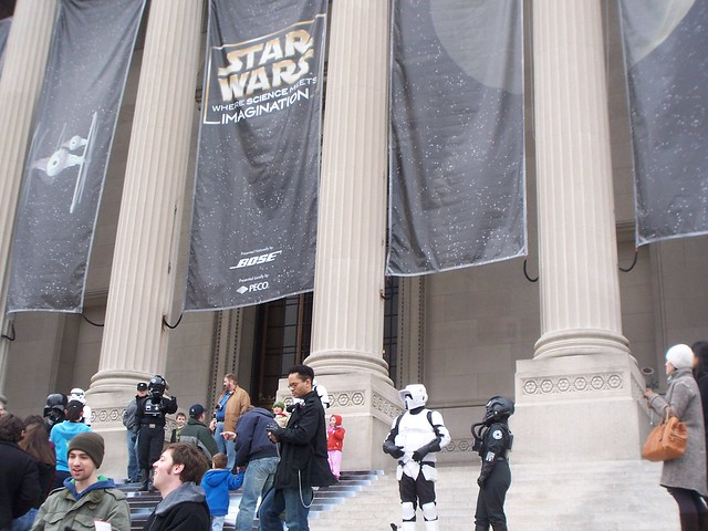 star wars at the franklin institute