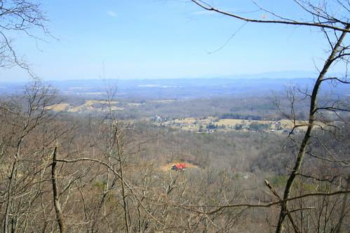 spring hiking tennessee highestpoint knoxcounty housemountainstatenaturalarea