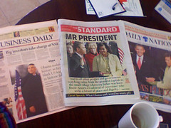 KENYAN PAPERS by Jebet