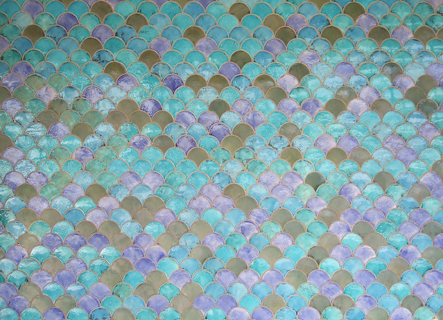 Fish scale tiles flickr photo sharing