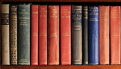 Edith Wharton's copies of her own books at The Mount card by David Dashiell.jpg
