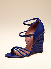 footwear, shoe, high-heeled footwear, leather, cobalt blue, sandal, azure, electric blue, blue,