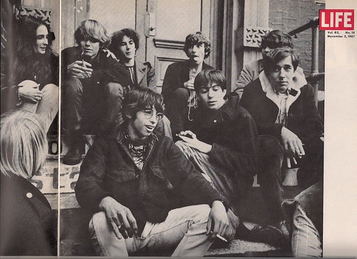 11/03/67 Life Magazine - Kids gather On Stoop - St. Marks Place, NYC
