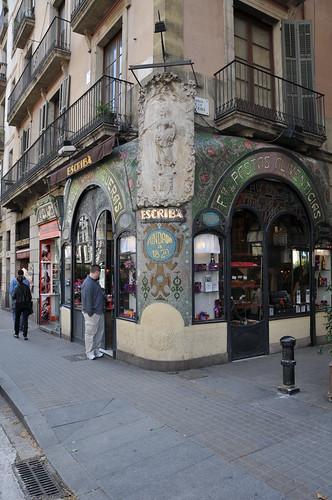escrib caf in barcelona spanien reisef hrer tripwolf. Black Bedroom Furniture Sets. Home Design Ideas