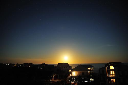 sky moon beach st night stars island evening george nikon florida moonrise fl nikkor arturo beachhouse donate 2470 d700 arturodonate