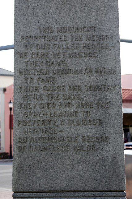 Statue in Brooksville, Florida