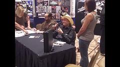 Doyle Brunson with fans - World Series of Poker celebrity poker tournament - Rio Casino, Las Vegas