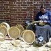 Small photo of Basket Weaver at Market