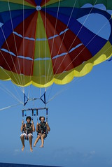 surface water sports, parachute, air sports, sports, parasailing, windsports, extreme sport,