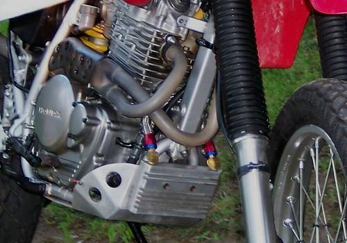 Xr650l Oil Cooler : Oil cooler on xr adventure rider