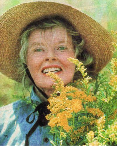 Katharine Hepburn in On Golden Pond