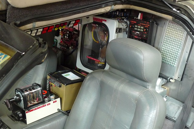 Delorean Interior