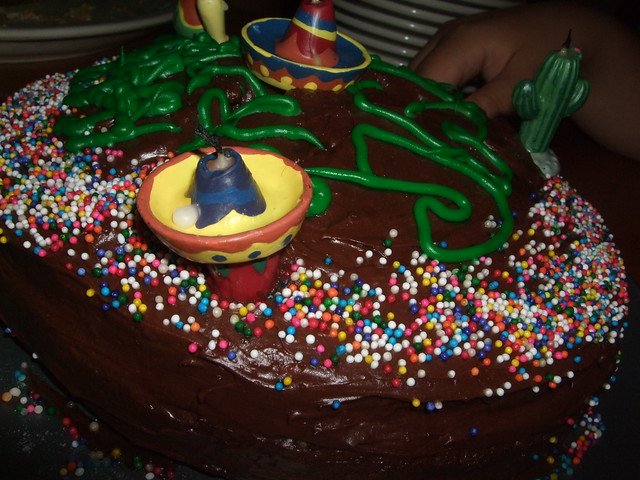 Images Of Homemade Birthday Cake