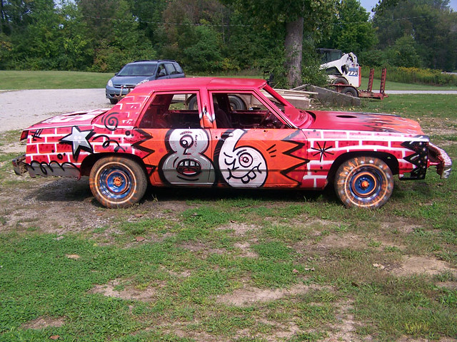 Demolition Derby Car Paint Jobs Motorcycle Review And
