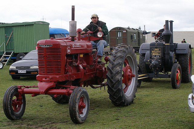 1956 Ford 640 Tractor Fenders : Farmall super bm tractor this british built