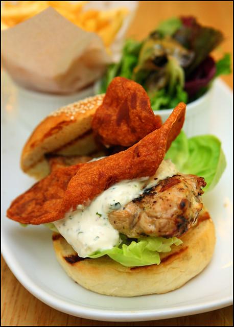 grilled-chicken-burger | Flickr - Photo Sharing!