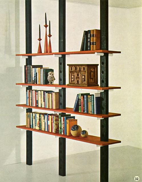 60s Diy Bookshelf Room Divider Flickr Photo Sharing