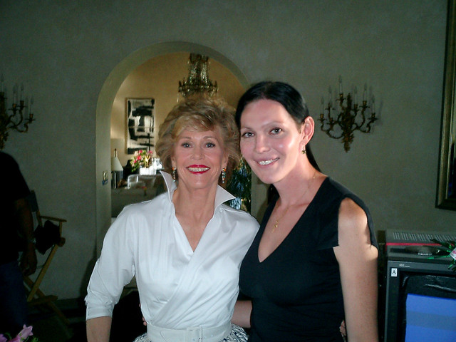 """Monster In Law"" (On Set)"