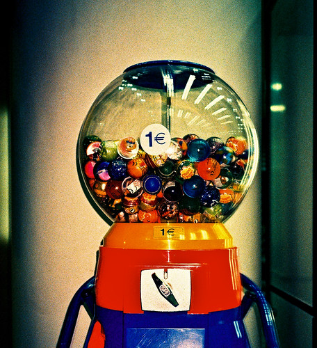 rubber balls machine