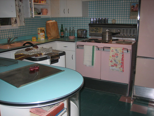 Photo - Vintage kitchen ...