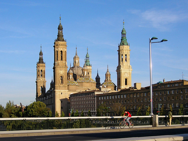 Zaragoza in Spain by Flickr CC Oleg Sidorenko