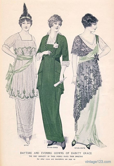 March 1914 Fashion
