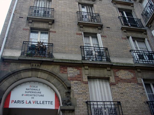 ecole nationale sup rieure d 39 architecture de paris la villette flickr photo sharing. Black Bedroom Furniture Sets. Home Design Ideas