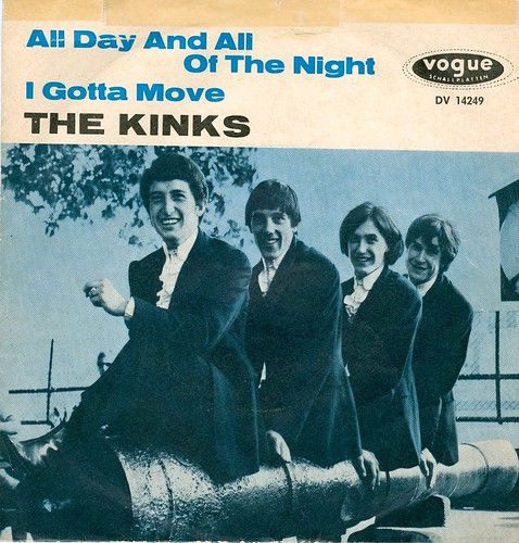 1964 - Kinks, The - All Day And All Of The Night - D